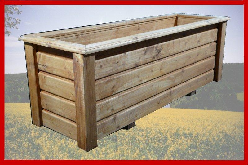 pflanzkasten classiv 120x40x40 cm lxbxh lasiert nach wunsch. Black Bedroom Furniture Sets. Home Design Ideas